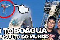 O TOBOÁGUA MAIS ALTO DO MUNDO – #VSResponde